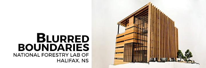 Blurred Boundaries - National Forestry Lab of Halifax, Nova Scotia